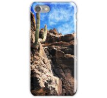 Cliff Dwelling Cactus iPhone Case/Skin