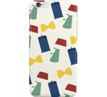 Doctor Who Items iPhone Case/Skin