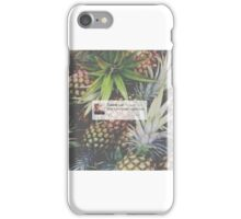 Caspar Lee Pineapple Quote iPhone Case/Skin