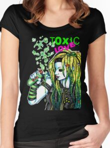 Toxic Love Women's Fitted Scoop T-Shirt