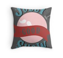 Jolly Good Show Throw Pillow