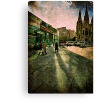Fascinating Fed Square Canvas Print