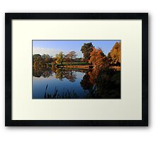 Hillsborough Lake Framed Print