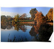 Hillsborough Lake Poster