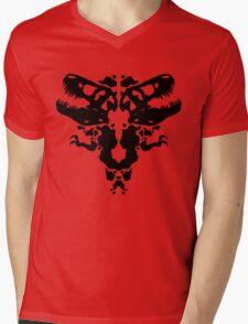 Rawrschach Test Mens V-Neck T-Shirt