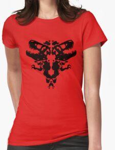 Rawrschach Test Womens Fitted T-Shirt