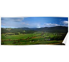 I Can See Forever... Gunns Plains Poster