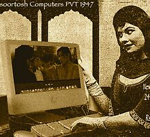 Mansoortosh All New 1947 IMRAN All In One Computer by Kenny Irwin