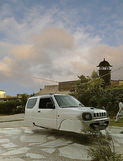 Awesome Adam Zabardast Jeep Sport Utility 4x4 Hovercar by Kenny Irwin