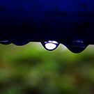 stopped raindrop by Yuning