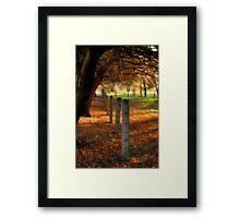 Autumn Day II Framed Print