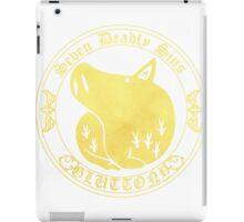 Boars Gluttony Back iPad Case/Skin