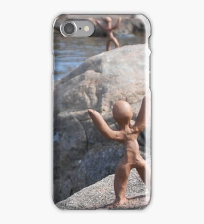 Clay People by Loch Maree iPhone Case/Skin