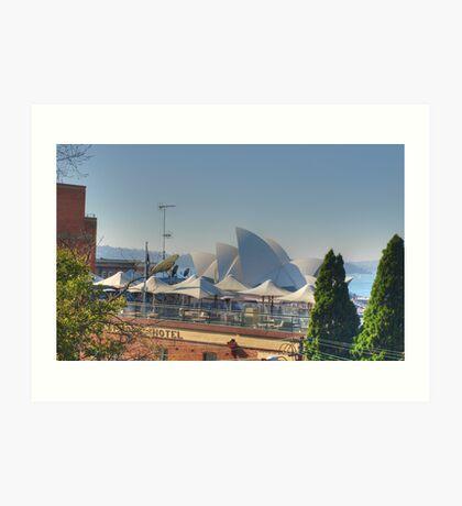 Sydney Sails Art Print