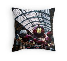Covent Garden Christmas Baubles Throw Pillow