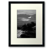 Across The Dunes Framed Print