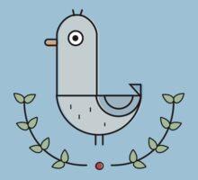 Super Fancy Bird Kids Tee