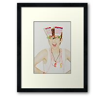 Key/Kim Kibum of SHINee inspired Framed Print