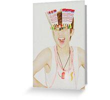 Key/Kim Kibum of SHINee inspired Greeting Card
