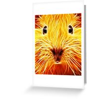 Fiery Mouse Greeting Card