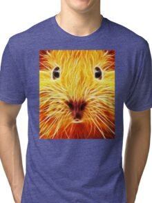 Fiery Mouse Tri-blend T-Shirt