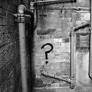 What? (B&W) by AndrewBlackie