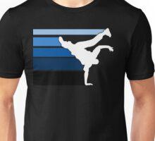 BBOY lines Blu/wht Unisex T-Shirt