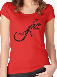 Lizard Women's Fitted Scoop T-Shirt