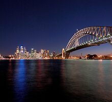 Sydney Evening view by Barry Culling