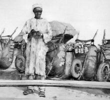 west african salesman by wayneo
