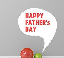 happy fathers day by thinkoddin