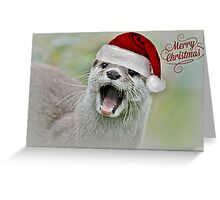 Otterly Excited Greeting Card