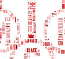 My Chemical Romance Logo Sticker