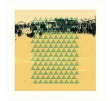 Digital Landscape #8 Art Print