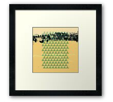 Digital Landscape #8 Framed Print