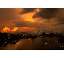 Something Wicked This Way Comes - Moods Of A City # 30 - Sydney , Australia Photographic Print