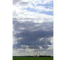 Big Sky Over Winnipeg 2 Photographic Print