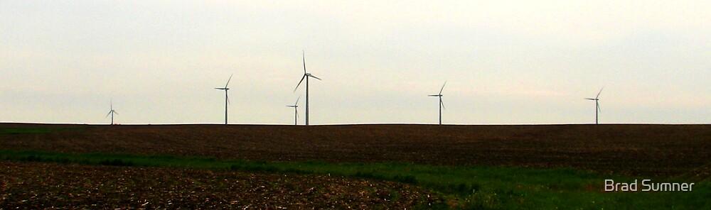 Farming the Wind 1 by Brad Sumner