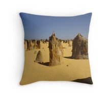 Pinnacles Throw Pillow