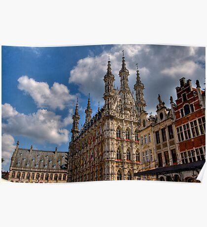 Leuven Town Hall Poster