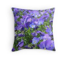 Violet Sea Throw Pillow
