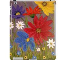 Wildflowers-2 iPad Case/Skin