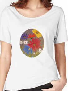 Wildflowers-2 Women's Relaxed Fit T-Shirt