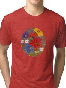Wildflowers-2 Tri-blend T-Shirt