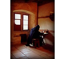 A Monk from the Past Photographic Print