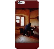 A Monk from the Past iPhone Case/Skin