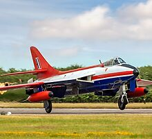 Hawker Hunter FGA.9 XE601/G-ETPS by Colin Smedley