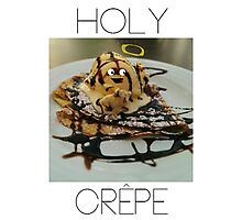 Holy Crêpe Photographic Print