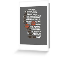 Why bother? Greeting Card