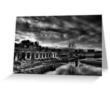 The Glass Factory Greeting Card